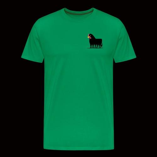 Huhnerstier T-Shirt - Männer Premium T-Shirt