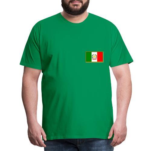 Bandiera Italiana - Maglietta Premium da uomo