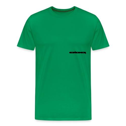 069_wide_v - Männer Premium T-Shirt