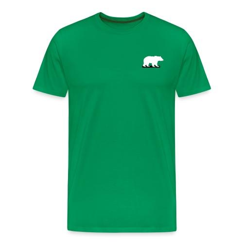 whitegrizzly logo - Men's Premium T-Shirt