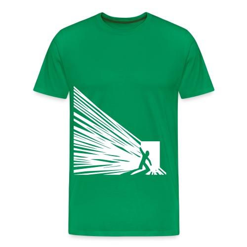 EXIT - Premium-T-shirt herr