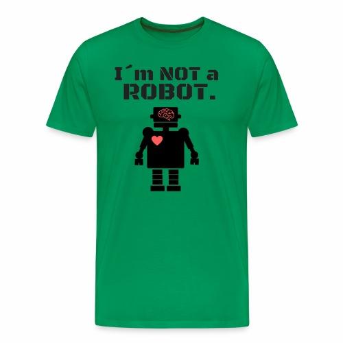 I'm not a robot - Camiseta premium hombre
