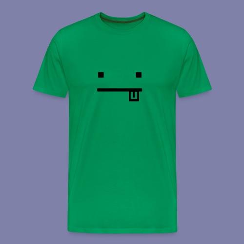 Blocky Tongue Face - Men's Premium T-Shirt