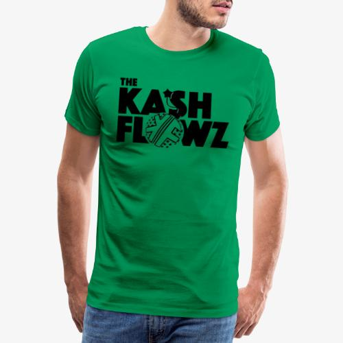 The Kash Flowz Official Bomb Black - T-shirt Premium Homme