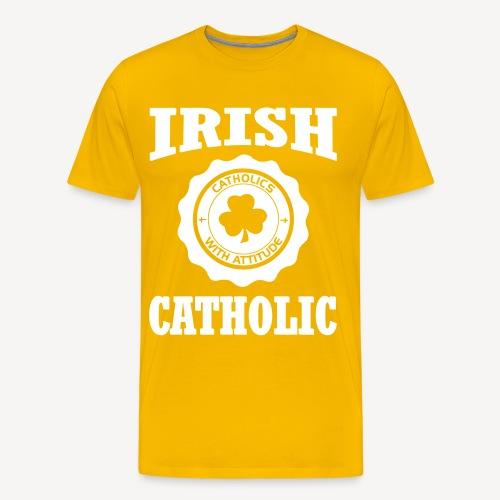IRISH CATHOLIC - Men's Premium T-Shirt