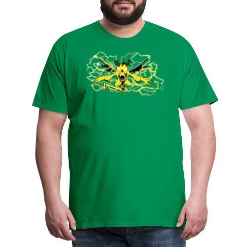 Fulgur il drago elettrizzante - Maglietta Premium da uomo