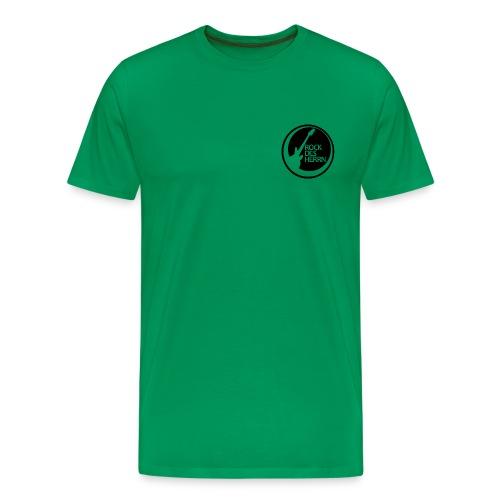 rdh 2011 logo schwarz - Männer Premium T-Shirt