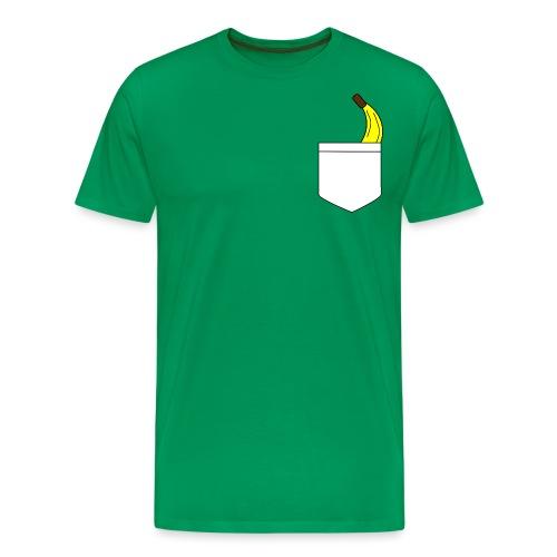 Banana pocket - Mannen Premium T-shirt