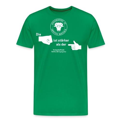 Pokalfinale 16 17 alles - Männer Premium T-Shirt