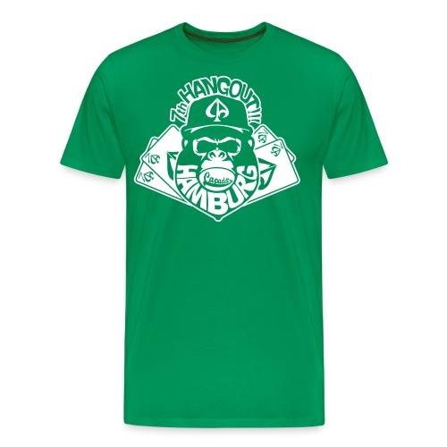 Capaddicts-Shirt-Hangout- - Männer Premium T-Shirt