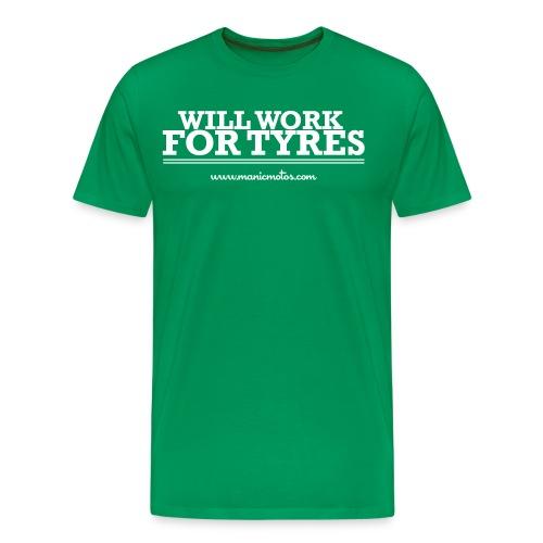 workfortyres - Men's Premium T-Shirt
