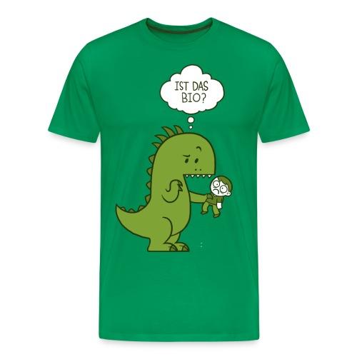 Bio-Dinosaurier - Männer Premium T-Shirt