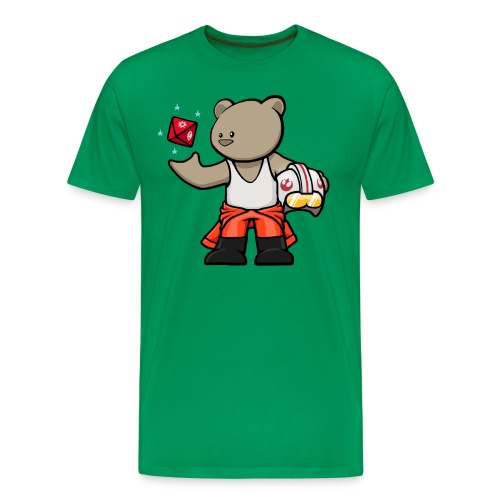 vanguard bear jedi noshadow - Men's Premium T-Shirt