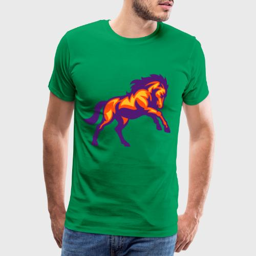 Cheval Pur-sang - T-shirt Premium Homme