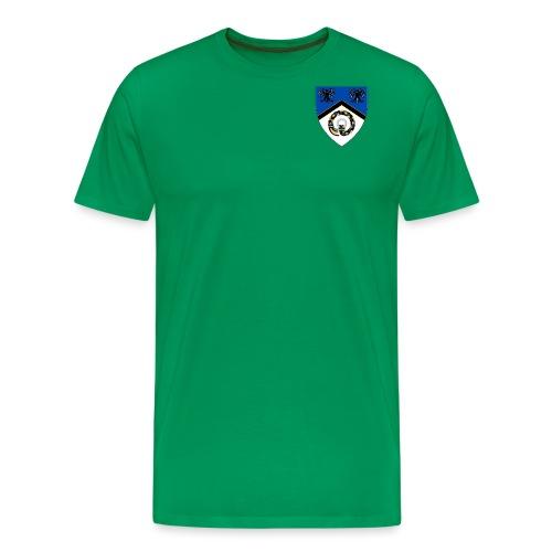 Hrafnarfjall Shield - Men's Premium T-Shirt