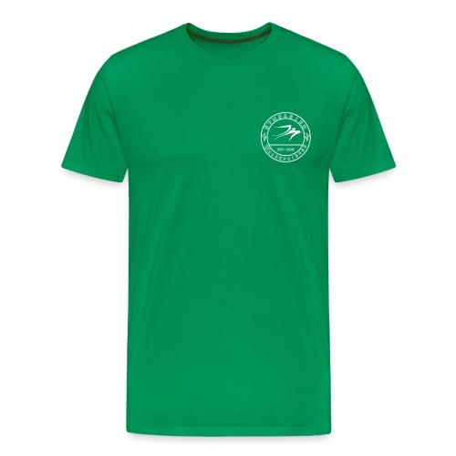 schwarz 12x12 - Männer Premium T-Shirt