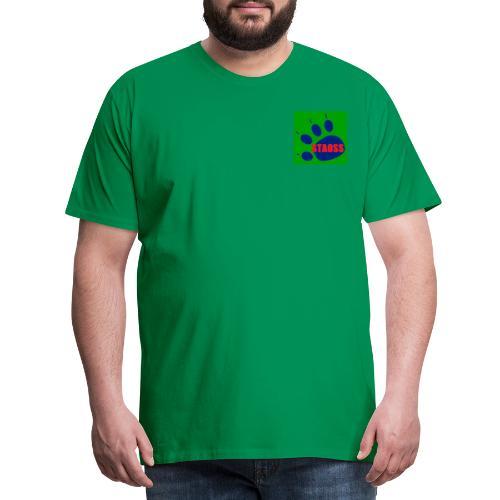 le toucher de l'ours - T-shirt Premium Homme