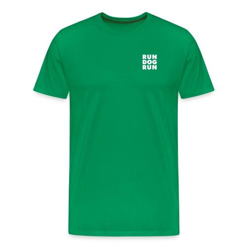 RDR logo svrt - Premium T-skjorte for menn