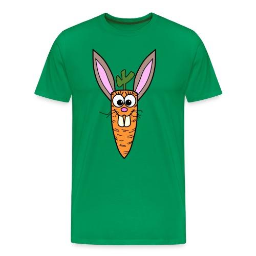 Cute Bunny Rabbit Carrot - Männer Premium T-Shirt