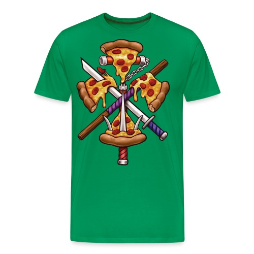 Ninja Pizza - Men's Premium T-Shirt