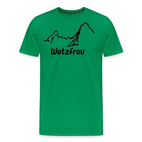 Watzfrau - Männer Premium T-Shirt