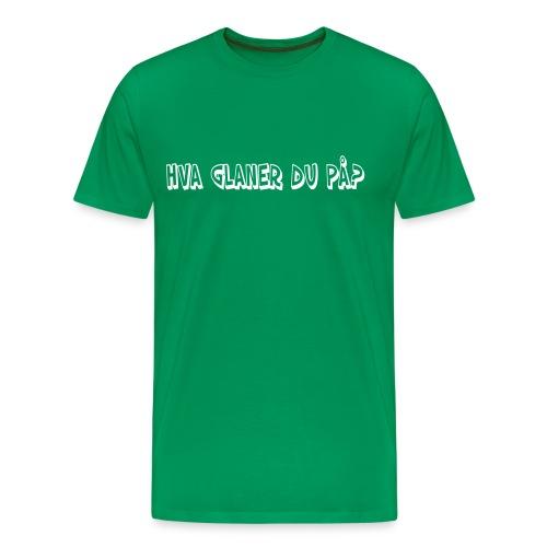 glaner - Premium T-skjorte for menn