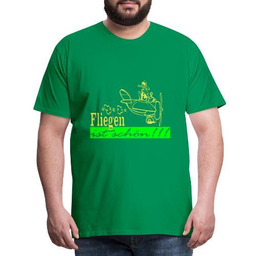 Fliegen ist schön! - Männer Premium T-Shirt