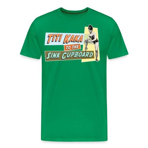titikaka shirt1 trans rand - Mannen Premium T-shirt