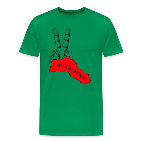 Peace-Kurdistan - Männer Premium T-Shirt