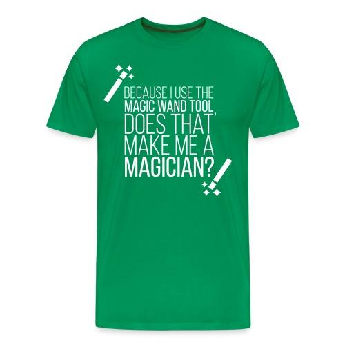 Graphic Design Wand Tool Shirt - Men's Premium T-Shirt
