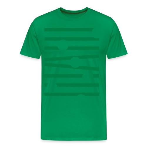 RullandeBollar 2 - Premium-T-shirt herr