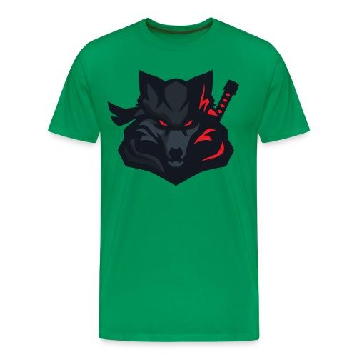 ShadowWolf Logo rot - Männer Premium T-Shirt