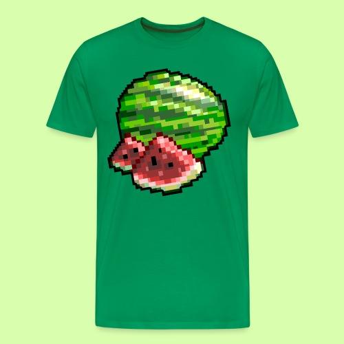 Niss3 Melon - Premium-T-shirt herr