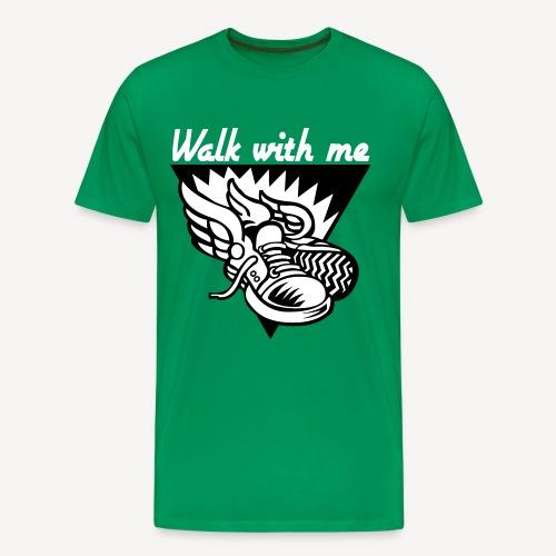 GEH MIT MIR - Männer Premium T-Shirt