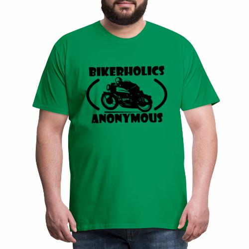 Bikerholics Anonymous - Men's Premium T-Shirt