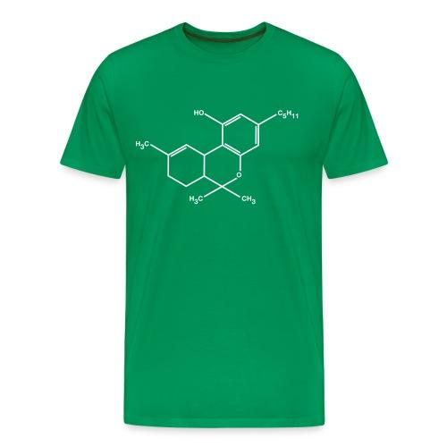 THC - weed - wiet - Mannen Premium T-shirt