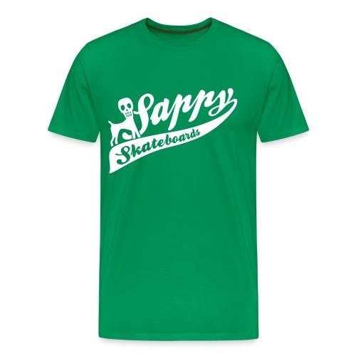 sappy baseball print - Premium-T-shirt herr