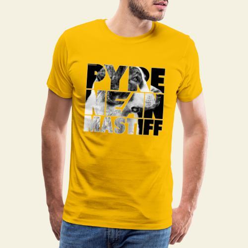 Pyrenean Mastiff II - Miesten premium t-paita
