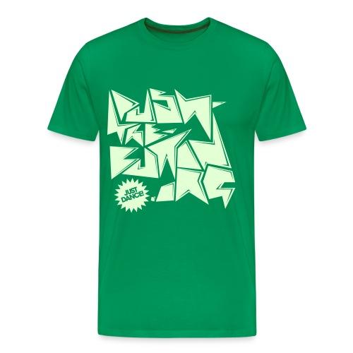 just dance - Men's Premium T-Shirt