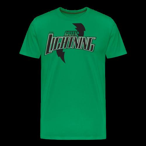 2051216 14160513 lightning orig png - Männer Premium T-Shirt