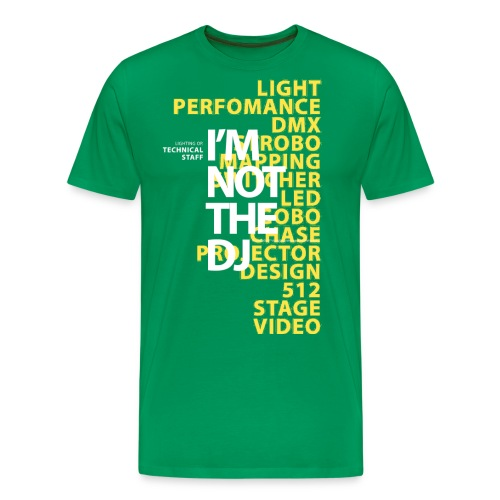 im not the dj - Men's Premium T-Shirt