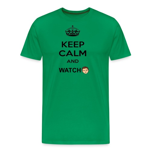 Keep Calm And Watch Anthonyos33 - Men's Premium T-Shirt