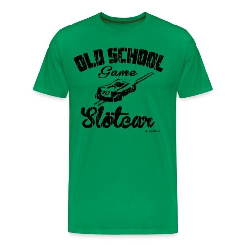 Oldschool game slotcar - T-shirt Premium Homme
