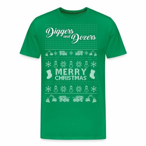 A White Christmas - Men's Premium T-Shirt