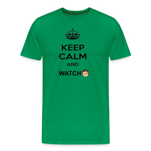 Keep Calm And Watch Anthonyos33 - Men's Premium T-Shirt