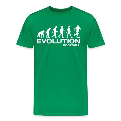 evolution football - Men's Premium T-Shirt