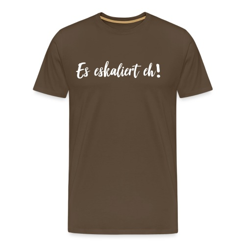 ekaliert Weiß png - Männer Premium T-Shirt