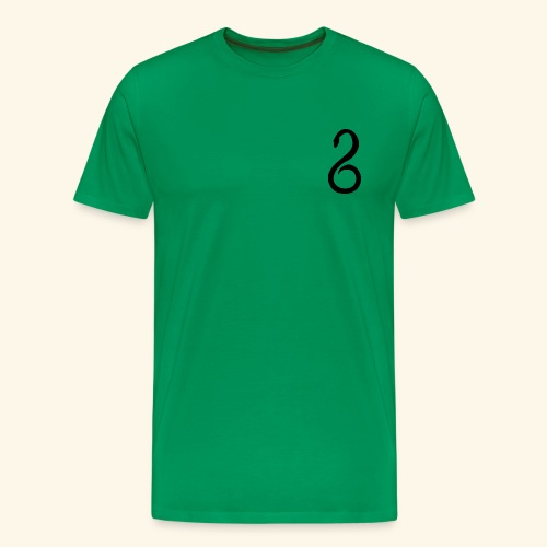 Slytherin Crest Logo - Men's Premium T-Shirt
