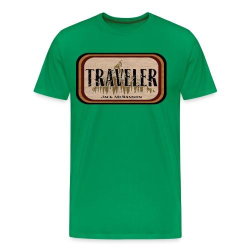 Jack McBannon -Traveler - Männer Premium T-Shirt