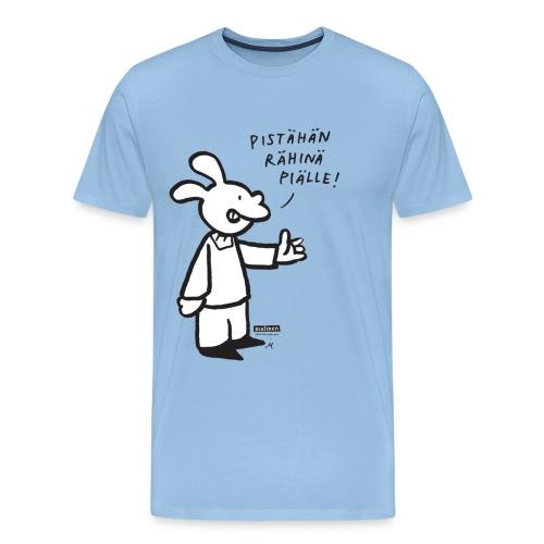 malinenrahina - Miesten premium t-paita